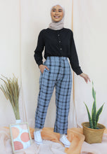 Load image into Gallery viewer, Reesa Checkered Pants (Soft Grey)