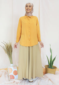 Tahiraa Basic Top (Mustard)