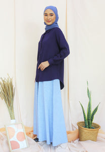 Tahiraa Basic Top (Navy Blue)
