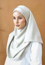 Load image into Gallery viewer, Hasnaa Cotton Shawl (Ash Grey)