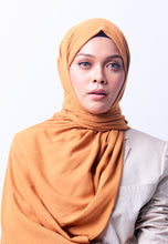 Load image into Gallery viewer, Jenna Wide Shawl (QH Gold Tag) - Gold