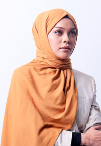 Jenna Wide Shawl (QH Gold Tag) - Gold