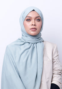Jenna Wide Shawl (QH Gold Tag) - Mint Green