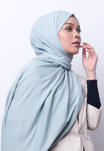 Load image into Gallery viewer, Jenna Wide Shawl (QH Gold Tag) - Mint Green