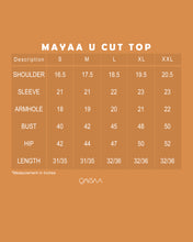 Load image into Gallery viewer, Mayaa U Cut Top (Mint)