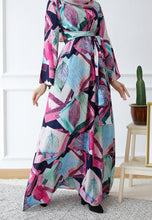 Load image into Gallery viewer, Dureen Printed Dress (Pink)