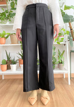 Load image into Gallery viewer, Salma Highwaisted Wide Pants (Black)