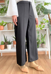 Salma Highwaisted Wide Pants (Black)