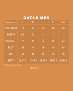 Qaple Men (White)