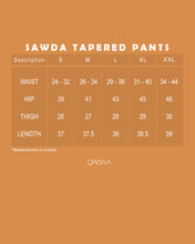 Load image into Gallery viewer, Sawda Tapered Pants (Lavender)