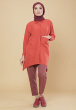 Load image into Gallery viewer, Maira Pocket Shirt (Earth Orange)