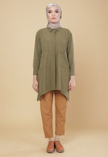 Load image into Gallery viewer, Maira Pocket Shirt (Olive Green)