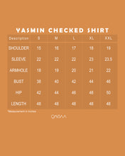 Load image into Gallery viewer, Yasmin Checked Shirt (Marble brown)