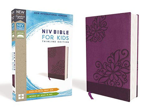 NIV, Bible for Kids, Leathersoft, Purple