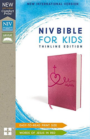 NIV, Bible for Kids, Leathersoft, Pink