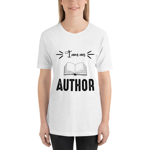 The Author Collection-I am an Author- Short-Sleeve Unisex T-Shirt