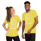 The Inspirational Collection-Let it Go-Short-Sleeve Unisex T-Shirt