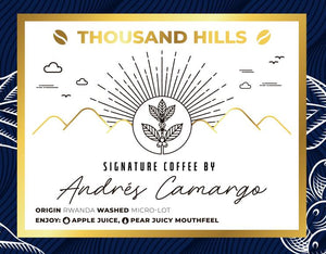 Thousand Hills Signature Coffee