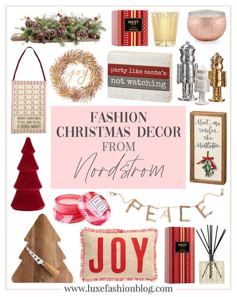 Fashion Christmas Decor From Nordstrom