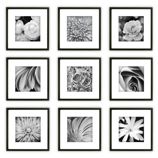 Gallery Perfect 9 Piece Wall Frame Se