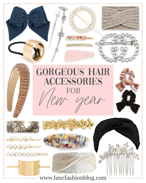 Gorgeous Hair Accessories For New Year