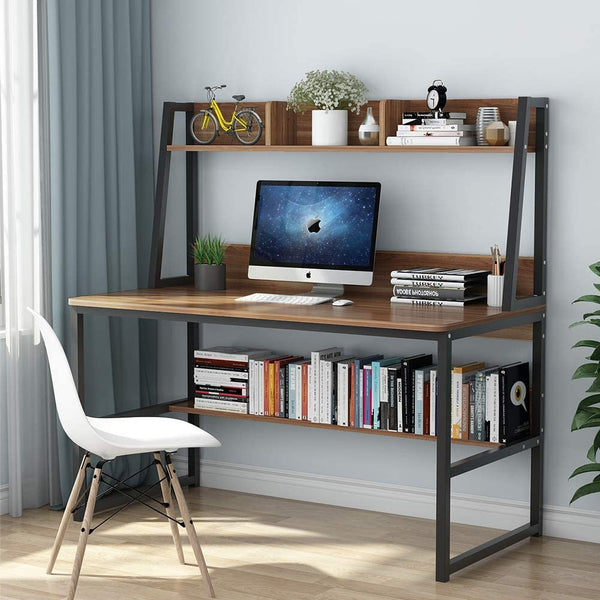 Home Office Desk with Space Saving Design
