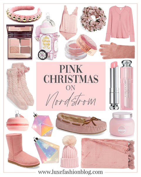 My Favourite Pink Christmas products From Nordstrom
