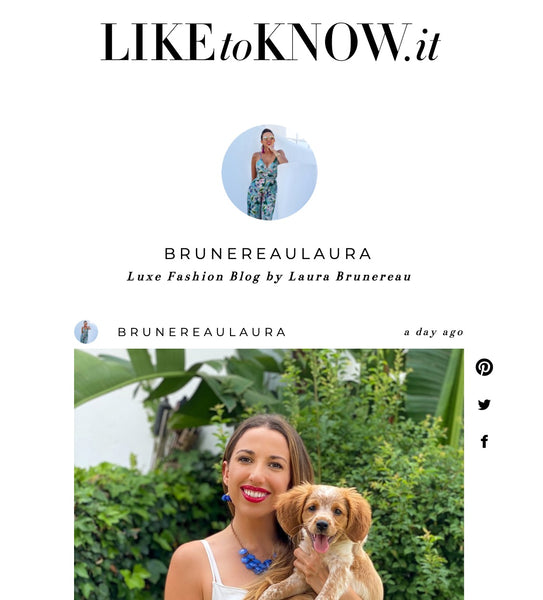 like to know it Luxefashionblog brunereaulaura