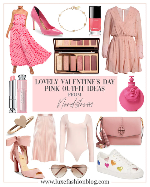 Lovely Valentine's Day Pink Outfit Ideas From Nordstrom