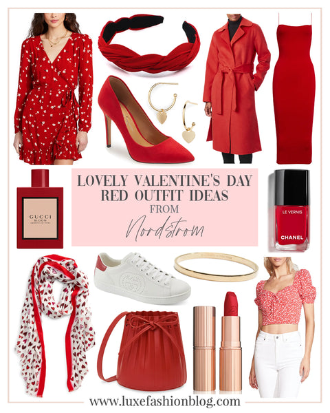 Lovely Valentine's Day Red Outfit Ideas From Nordstrom