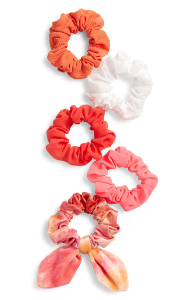 5-Pack Assorted Scrunchies