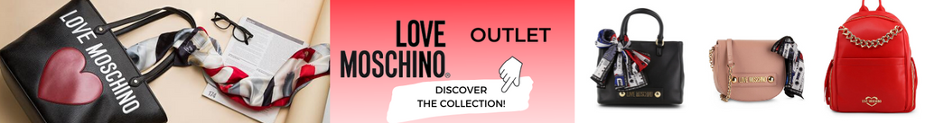 Love Moschino Shoes & Bags Outlet Sale