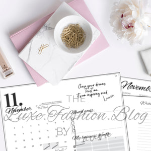 NOVEMBER - INFLUENCERS' MONTHLY PLANNER
