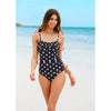 Cuba |  Draped Twisted Classy One Piece Swimsuit