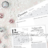 DECEMBER - INFLUENCERS' MONTHLY PLANNER