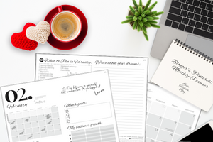 FEBRUARY - The Ultimate Pinterest & Social Media Content Planner