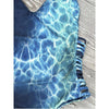 Roatan | Water Print Strappy Sides One Piece Swimsuit