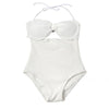 Santana | Front Bow Cut Out One Piece Swimsuit