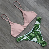 Zihuatanejo | Mix Match Pink Tropical Bikini