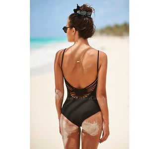 Amalfi | Backless Crochet  One piece
