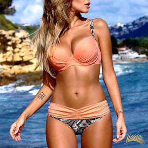Santa Lucia | Push Up Mix And Match Bikini