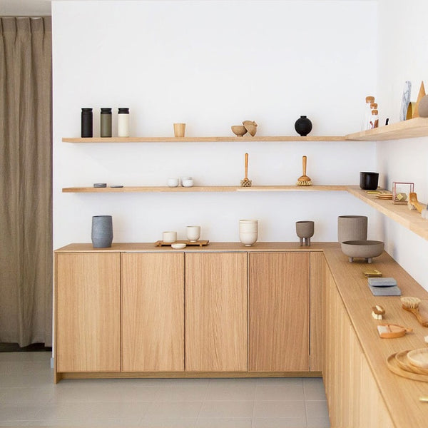shortlist store Ghent Belgium - carefully curated everyday objects - timeless minimalist sculptural sustainable products and gifts