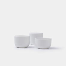Load image into Gallery viewer, Tea Light Holders Bisque (set of 3) - Smaller Objects | Shortlist store Ghent Belgium