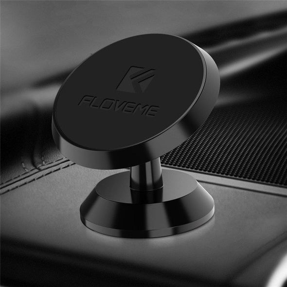 FLOVEME Magnetic Car Phone Holder For iPhone X 8 7 Strong Absorption Magnet Mount Car Holder Stand For Phone soporte movil coche