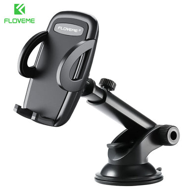 FLOVEME Automatic Car Phone Holder For iPhone X XS XR Desk Telefoonhouder Stand Car Holder For iPhone XS MAX Soporte Movil Coche