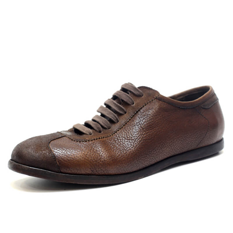 Men Handmade Vintage Casual Leather Shoes