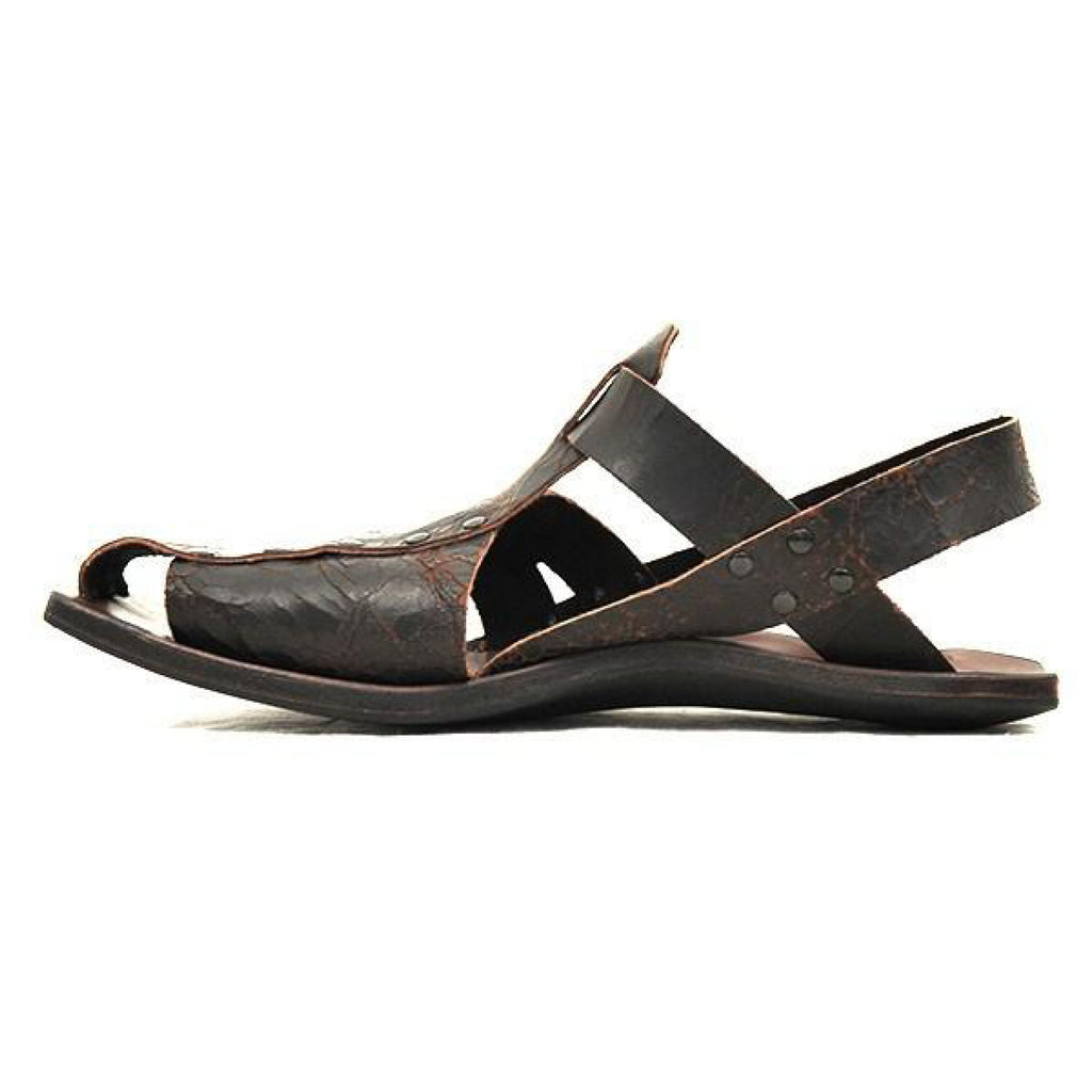 Summer Vintage Leather Sandals