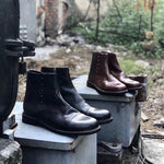 Men Vintage Original Design Leather Boots