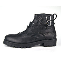 Men Motorcycle Retro Leather Boots
