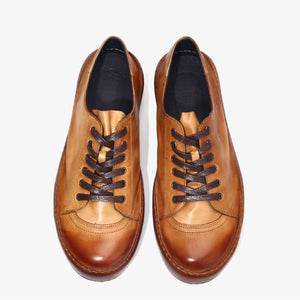 Vintage  Lace Up Handmade Leather Shoes